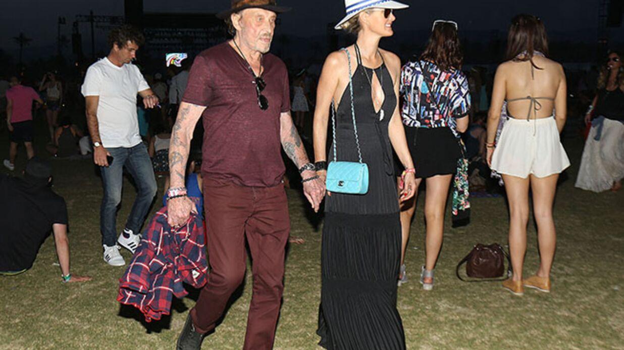 PHOTOS: Johnny et Laeticia Hallyday, fous amoureux à Coachella