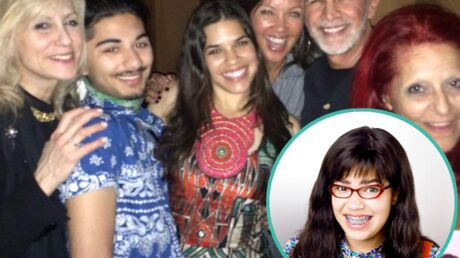 PHOTO Le casting d'Ugly Betty réuni pour l'anniversaire de sa star, America Ferrara