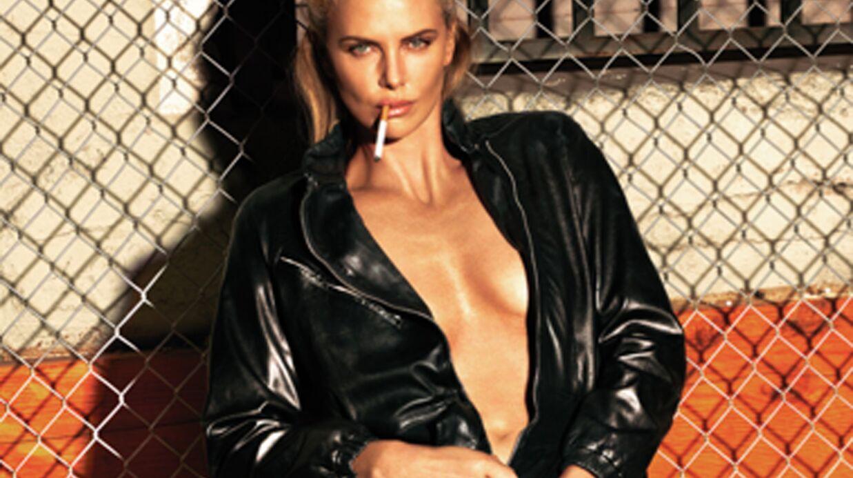 PHOTOS Charlize Theron torride pour W Magazine