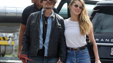 PHOTOS Amber Heard tendre et câline avec Johnny Depp après les rumeurs de tensions