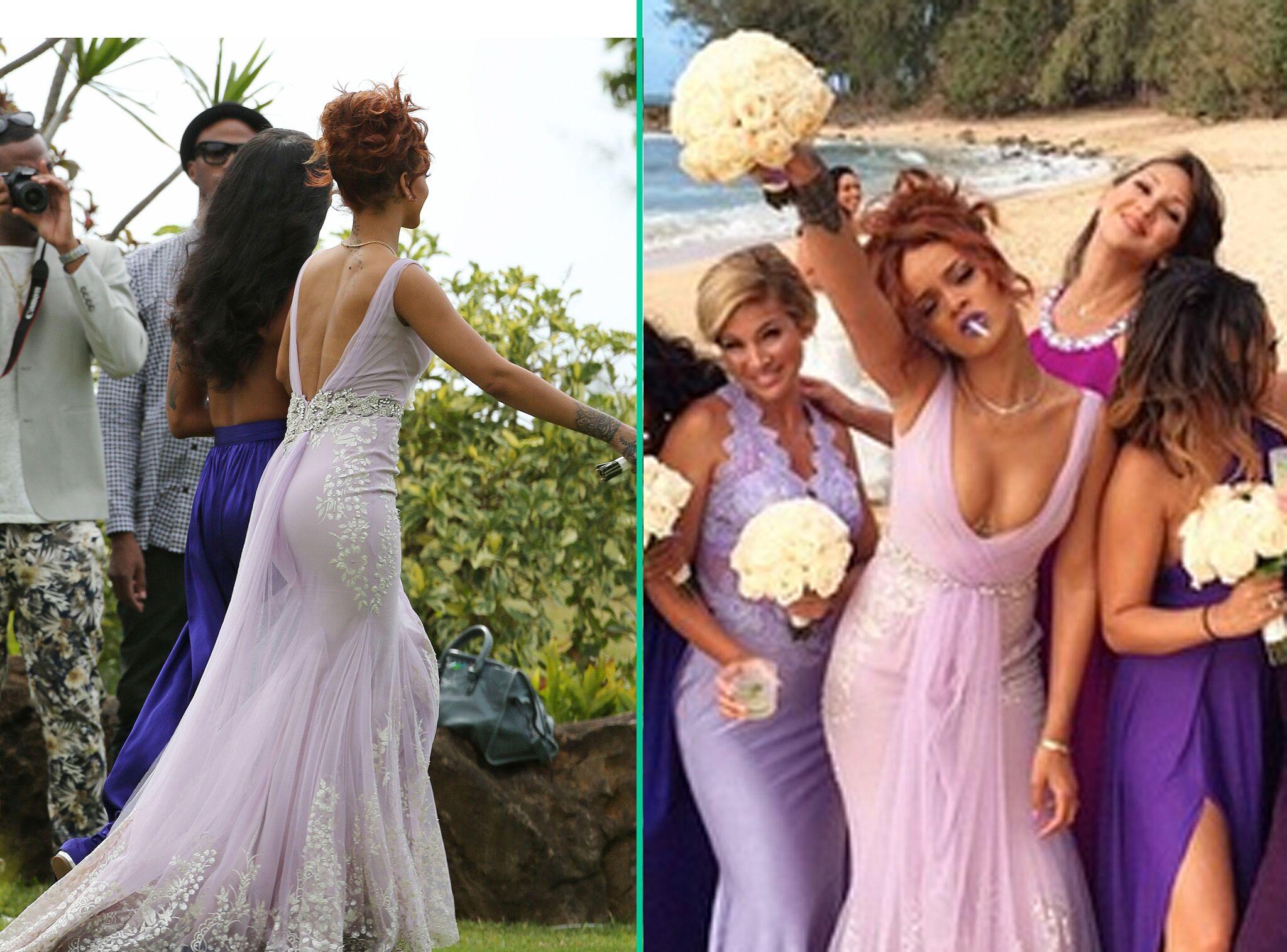 Demoiselle D'honneur Rihanna Ultra Classeou PresquePour Photos 9HIYDE2W