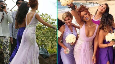 PHOTOS Rihanna demoiselle d'honneur ultra classe (ou presque) pour le  mariage de son assistante
