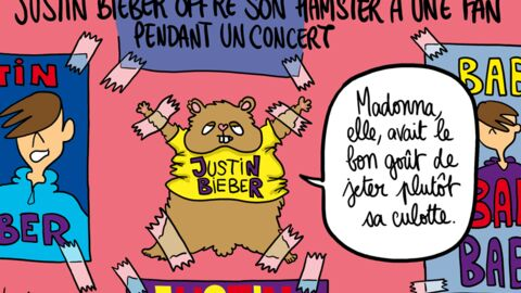Louison a croqué: l'abandon de son hamster par Justin Bieber
