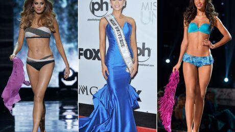 PHOTOS Découvrez Miss Univers 2015 et ses quatre dauphines, dont Flora Coquerel, Miss France 2014
