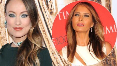 VIDEO Refusant de ressembler à Melania Trump, Olivia Wilde se coupe les cheveux