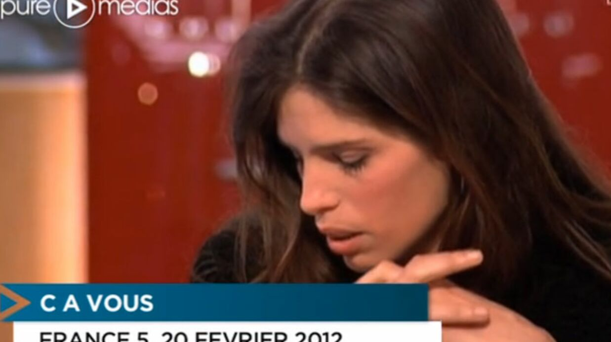 VIDEO Maïwenn s'effondre en direct dans C à vous