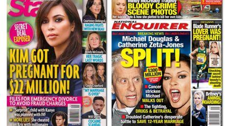 En direct des US: Michael Douglas quitte le domicile conjugal