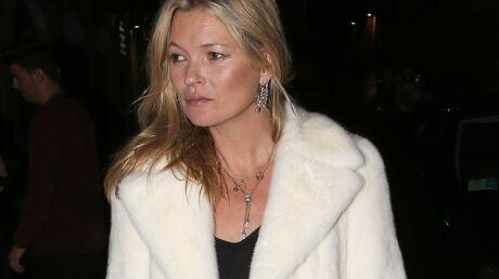 Kate Moss: ses vacances gâchées, elle s'est gravement blessée sur les pistes de ski