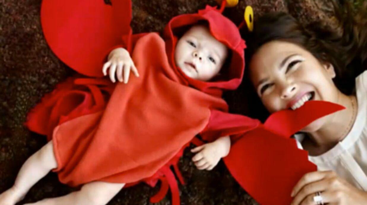 PHOTO Drew Barrymore présente sa fille… déguisée en homard