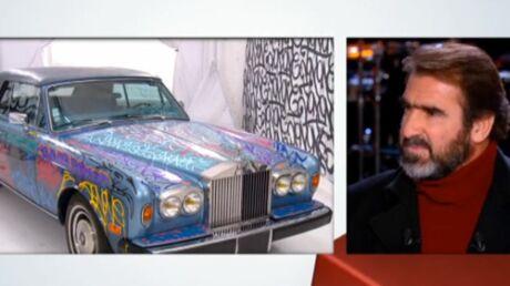 La Rolls-Royce d'Eric Cantona vendue aux enchères