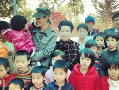 Laeticia Hallyday en visite au Vietnam