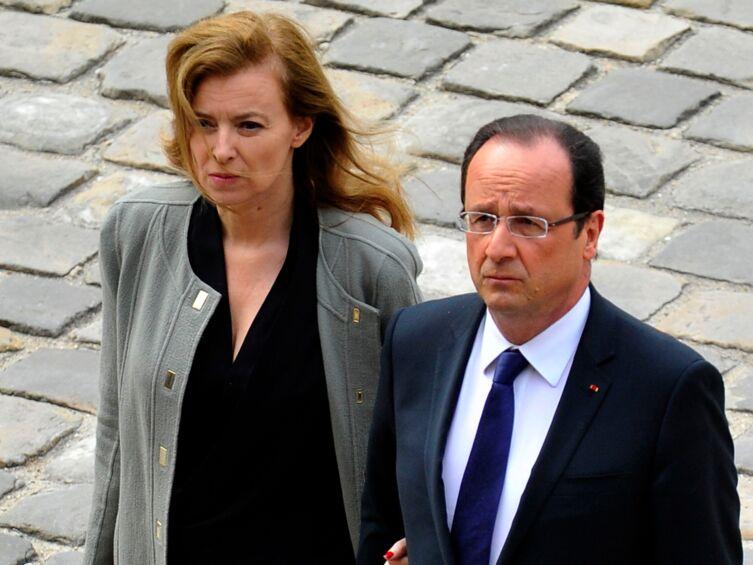 Liaison Hollande-Gayet : Valérie Trierweiler déterminée à sauver son couple