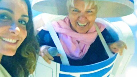 PHOTO Le selfie de Jenifer avec Mimie Mathy déguisée en R2-D2