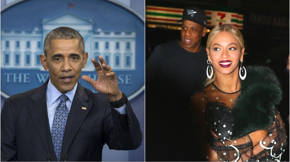 PHOTOS Beyoncé, Kim Kardashian, Rihanna… les stars remercient le président Obama