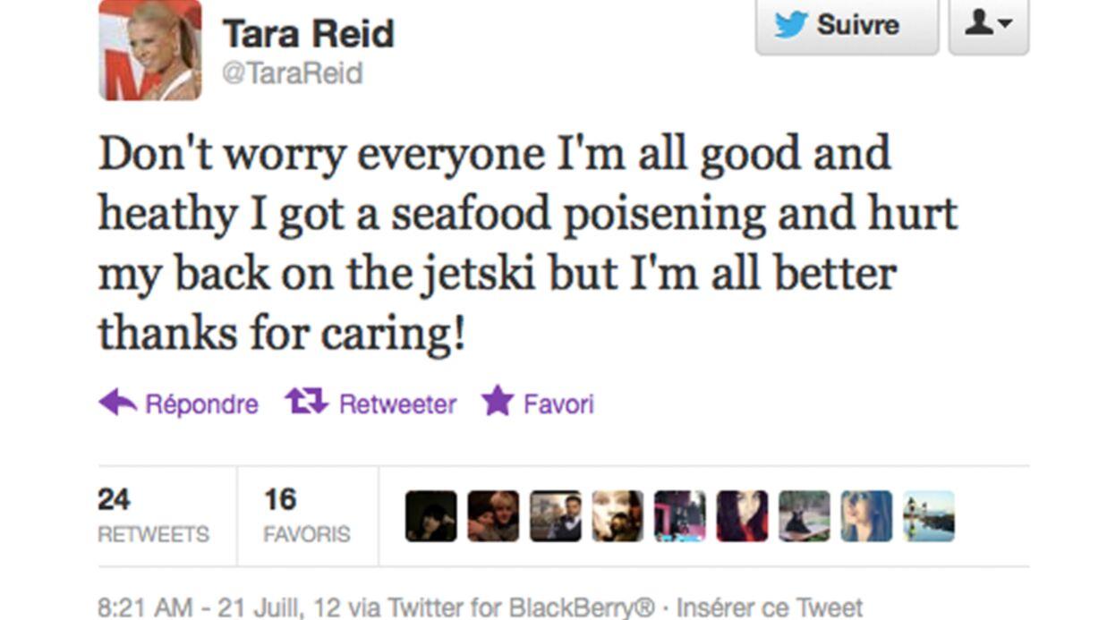 Tara Reid (American Pie) hospitalisée en France