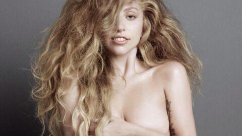 Lady Gaga s'affiche totalement nue et sans maquillage!