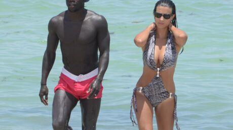 PHOTOS Ludivine Sagna ultra sexy en trikini à la plage