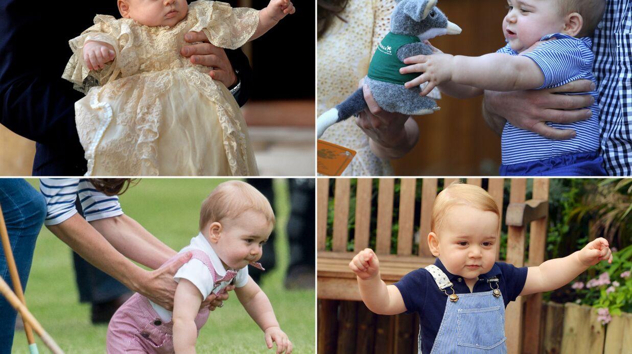 PHOTOS Le prince George a un an: retour sur une année bien remplie