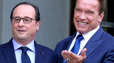 Arnold Schwarzenegger a posé un lapin à François Hollande
