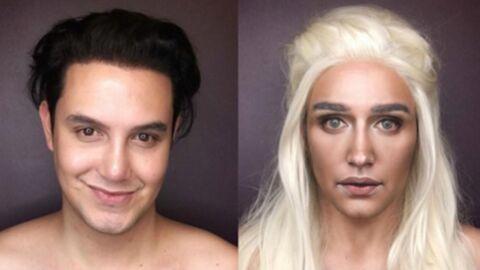 PHOTOS Il recrée les looks de Game of Thrones avec du maquillage, le résultat est saisissant