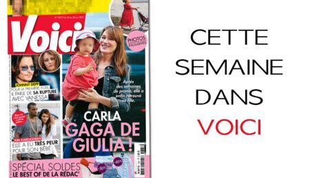 Carla Bruni, une maman complètement accro à sa fille Giulia