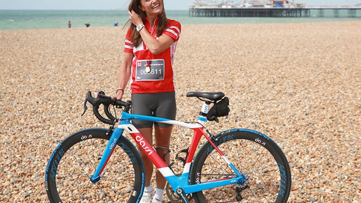 PHOTOS Pippa Middleton sexy sur son vélo pour la bonne cause