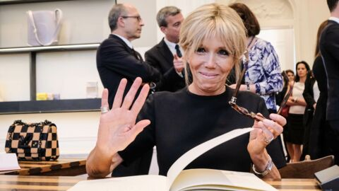 Brigitte Macron habillée par Louis Vuitton: elle a été prof des jumeaux de Bernard Arnault, patron de la marque