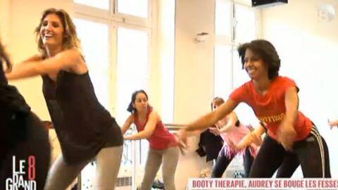 VIDEO Audrey Pulvar teste la thérapie… par les fesses