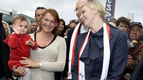 DIAPO Charlène de Monaco pas encore maman mais déjà très maternelle