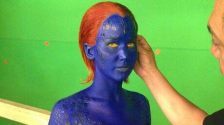PHOTO Les secrets de l'incroyable transformation de Jennifer Lawrence pour X-Men