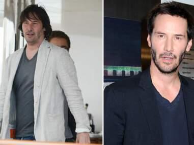 Keanu Reeves méconnaissable à Cannes