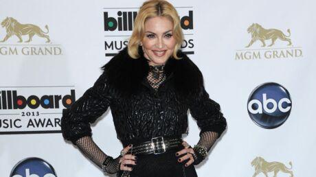 DIAPO Madonna ose le porte-jarretelles sur le red carpet des Billboard 2013