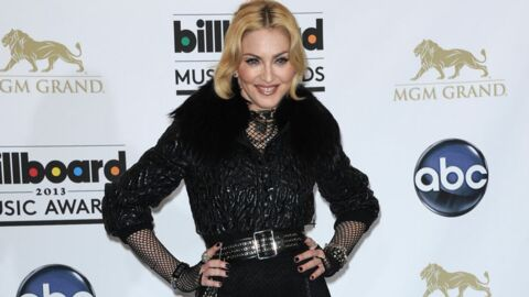 DIAPO Madonna ose le porte-jarretelles sur le red carpet des Billboard 2013