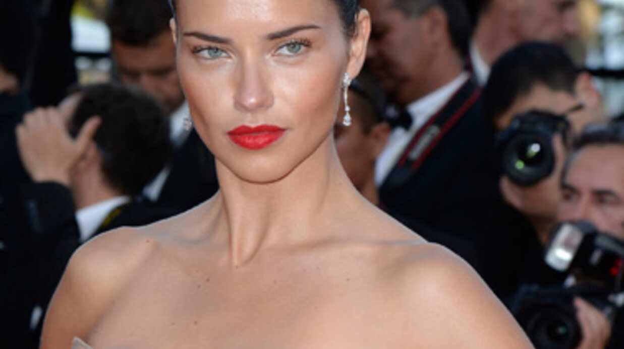 Cannes: Justin Bieber se prend un vent d'Adriana Lima