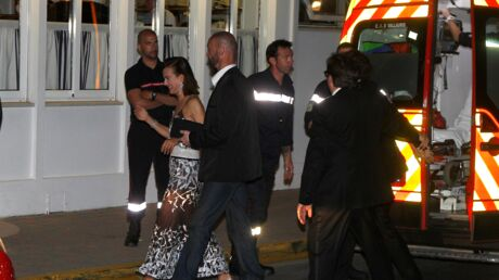 Cannes: Carole Bouquet secourue par les pompiers