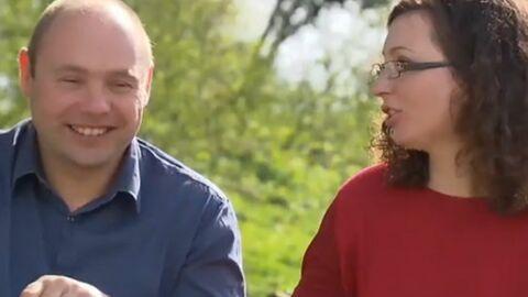 VIDEO L'amour est dans le pré: les premières images du mariage de Frédérique et Pierre