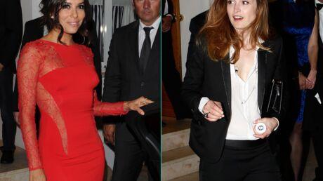 PHOTOS Eva Longoria sexy, Julie Gayet androgyne au dîner Vanity Fair