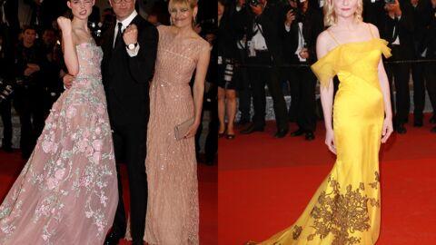 PHOTOS Cannes 2016: Elle Fanning fait le show, Kirsten Dunst solaire pour la montée des marches
