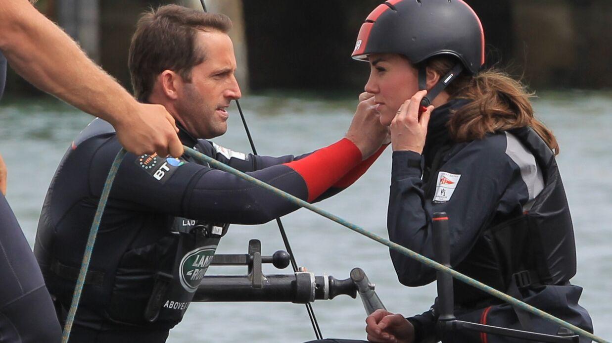 PHOTOS Kate Middleton s'offre une virée en mer à bord du catamaran d'un champion olympique