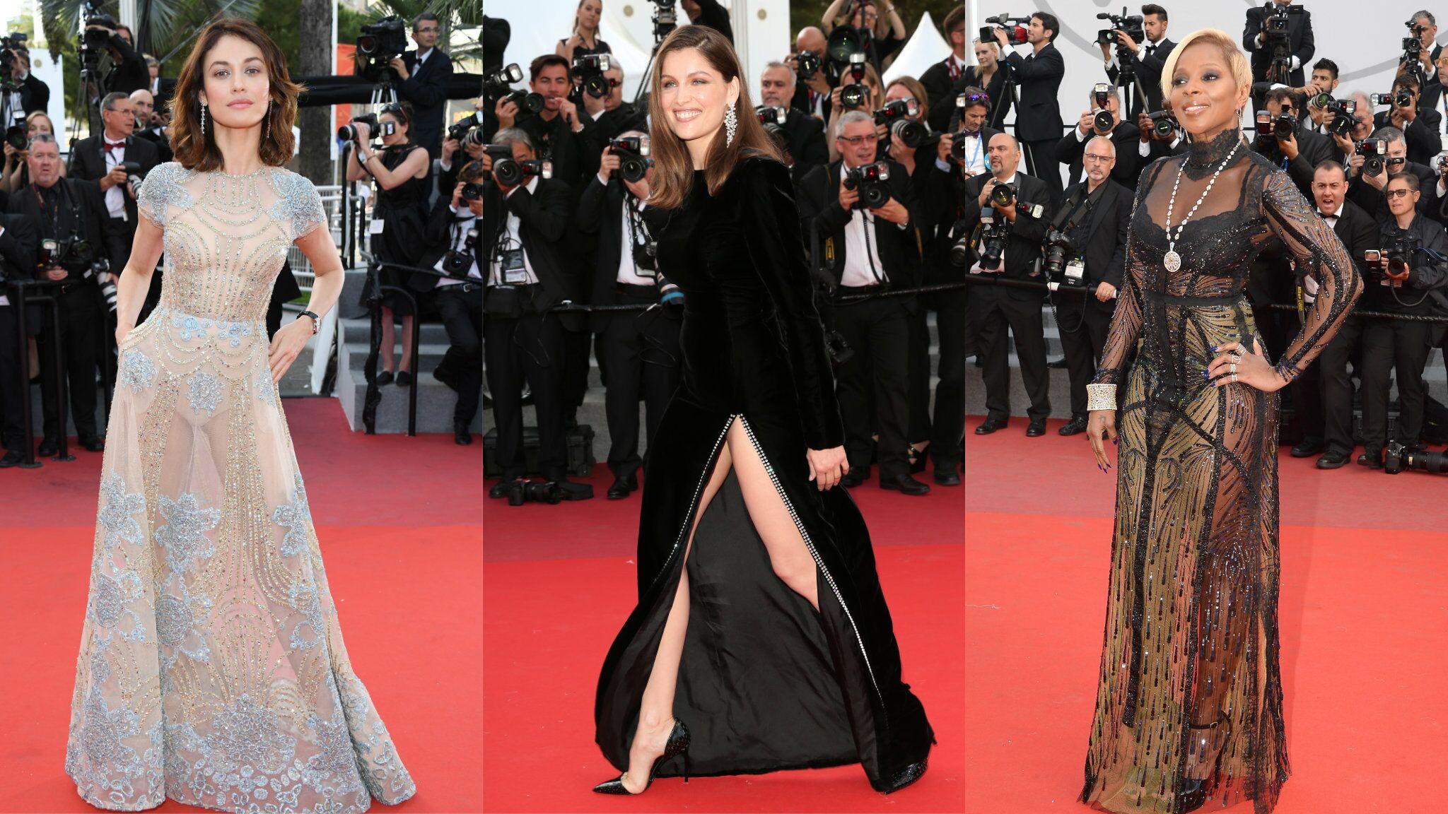 PHOTOS Cannes 2017 : Laetitia Casta manque de montrer sa culotte, Olga Kurylenko dévoile la sienne