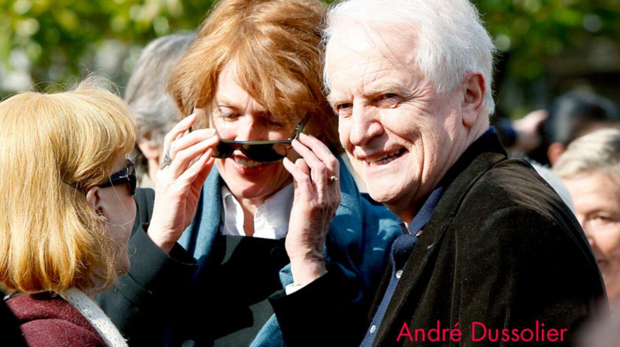 PHOTOS Cassel et Castaldi aux obsèques de Michel Duchaussoy