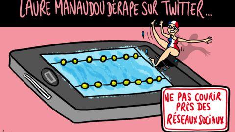Louison a croqué: le dérapage de Laure Manaudou sur Twitter