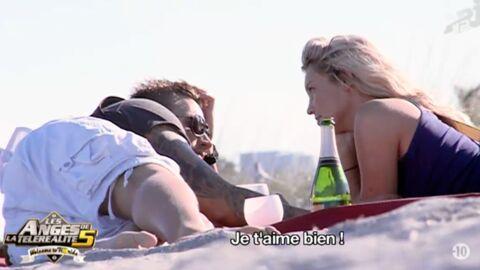 VIDEO Les Anges de la téléréalité 5: Aurélie et Benjamin s'embrassent