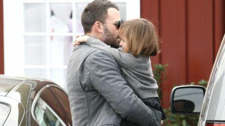DIAPO Ben Affleck et sa fille jouent les jumeaux à L.A