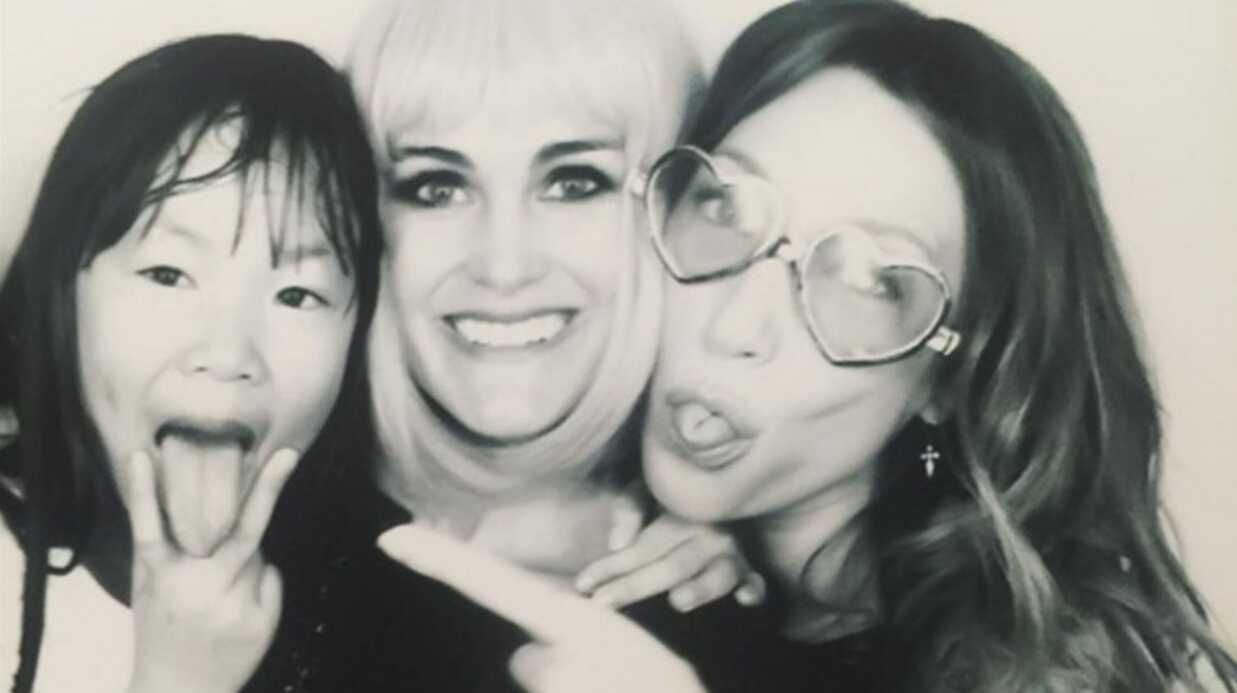 PHOTOS Johnny Hallyday, Laura Smet et Nathalie Baye réunis à l'anniversaire de Laeticia