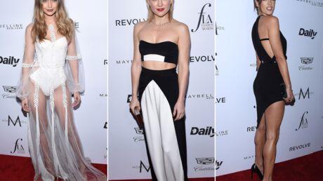 PHOTOS Gigi Hadid toute en transparence, Alessandra Ambrosio ultra sexy aux Fashion Awards