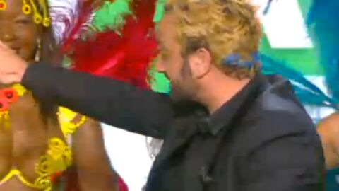 VIDEO Cyril Hanouna tient son pari et se teint les cheveux en blonds