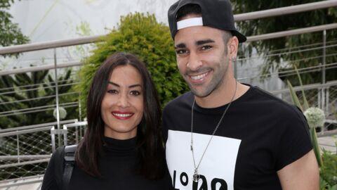 PHOTO Adil Rami: le joueur des Bleus et sa chérie Sidonie Biémont présentent leurs jumeaux
