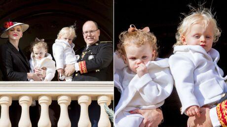 PHOTOS Jacques et Gabriella de Monaco élégants pour la Fête Nationale, ils ont bien grandi!