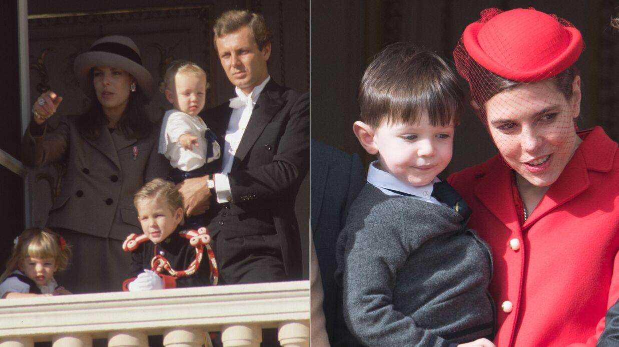PHOTOS Comme son fils Raphaël, Charlotte Casiraghi a fait son apparition très jeune au balcon de Monaco